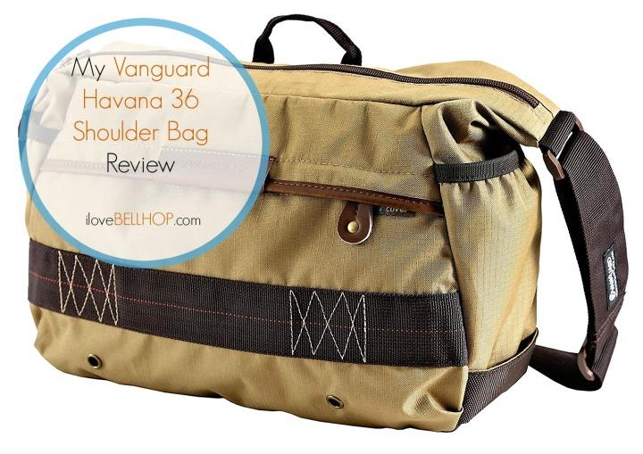 My Vanguard Havana 36 Shoulder BagReview